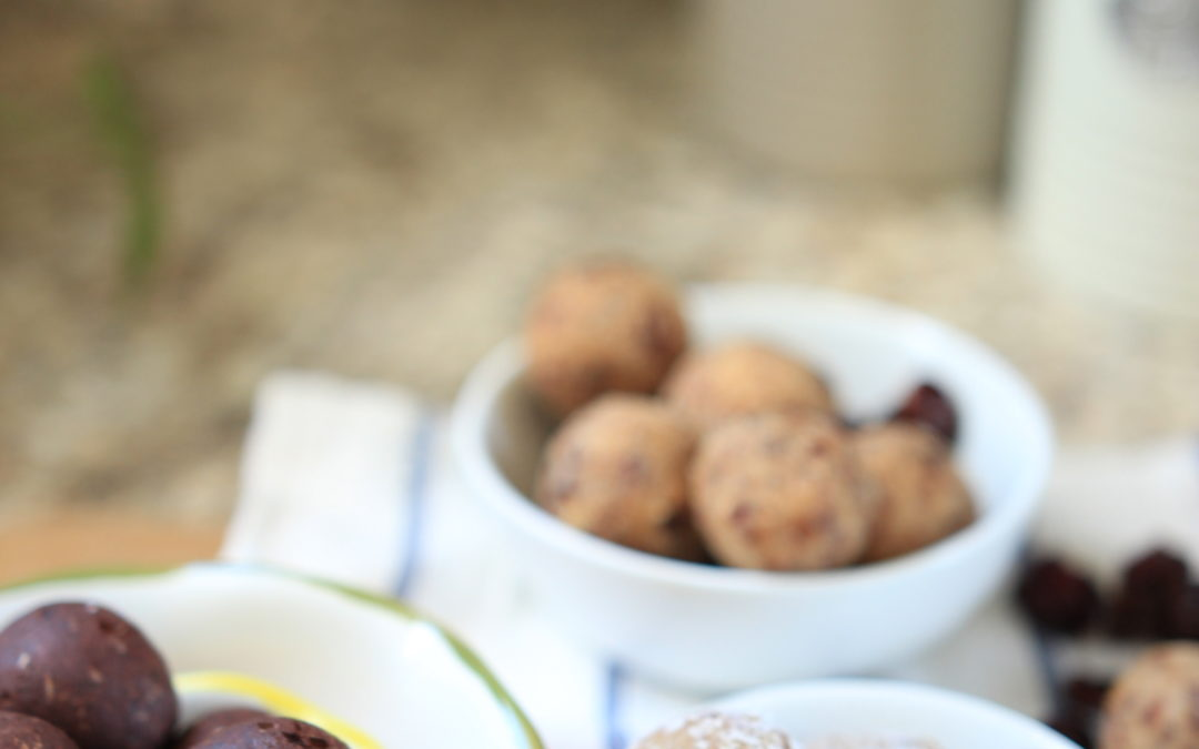 3 Easy & Healthy Date Ball Recipes