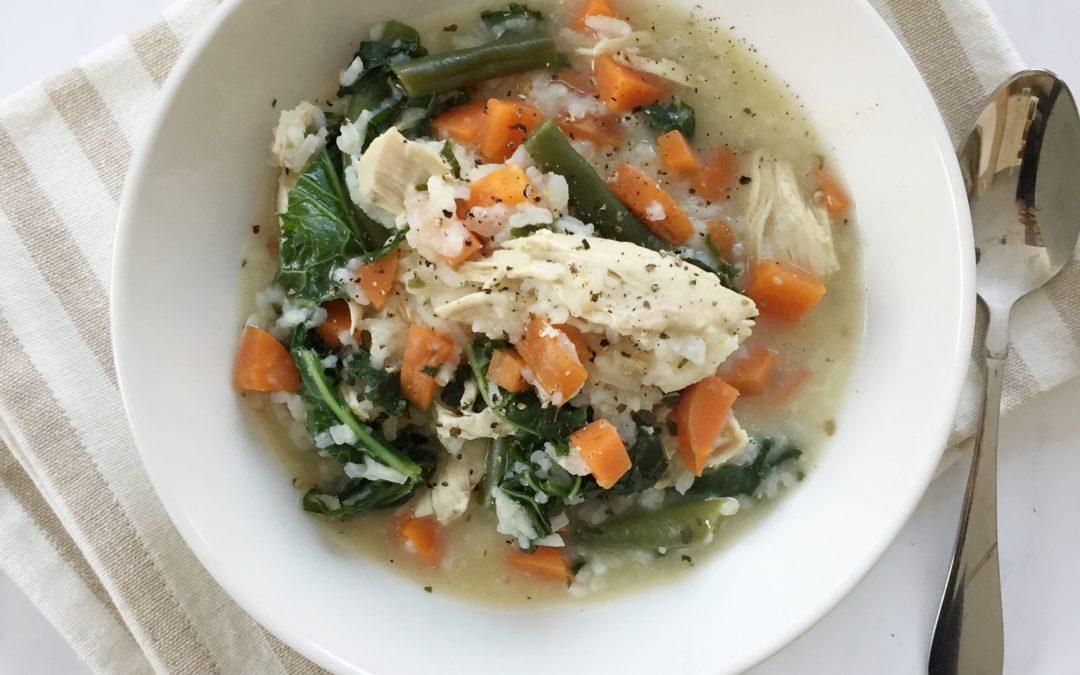 Winter Chicken & Rice Stew