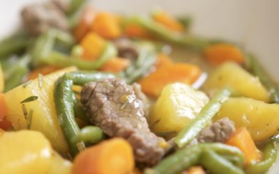 Rosemary Rutabaga Beef Stew