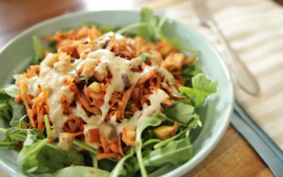 Carrot Cinnamon Detox Salad
