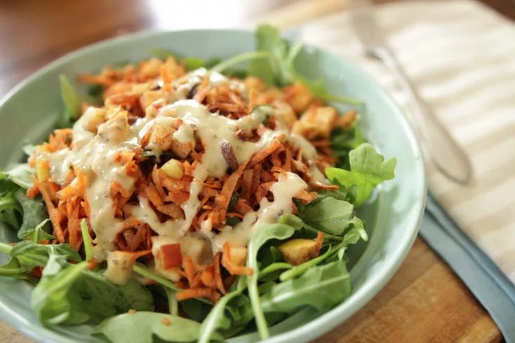 Carrot Cinnamon Detox Salad