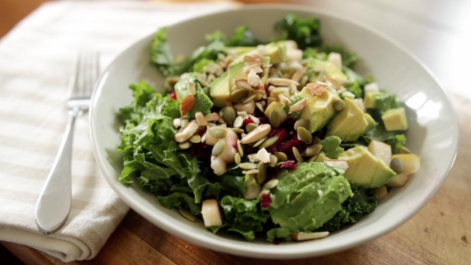 Kale Beet Detox Salad
