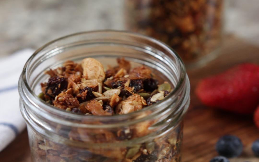 Grain-Free Granola + Overnight Muesli