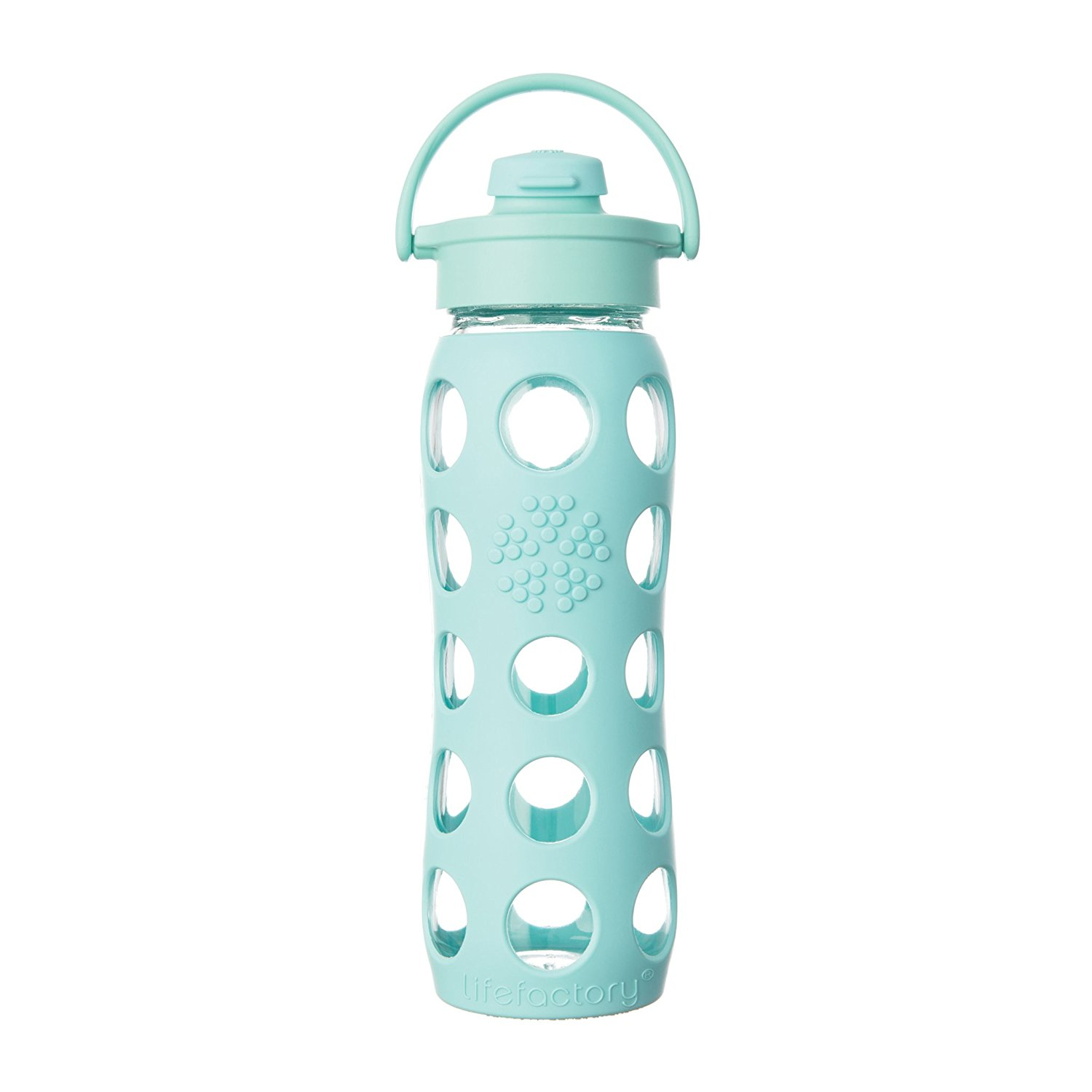 Life Factory Glass/Silicon Water Bottle Image