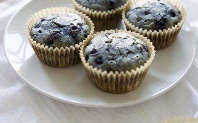 Blueberry Buckwheat Muffins (Gluten-Free)