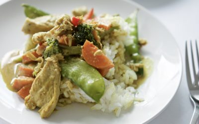 Easy Coconut Chicken Curry