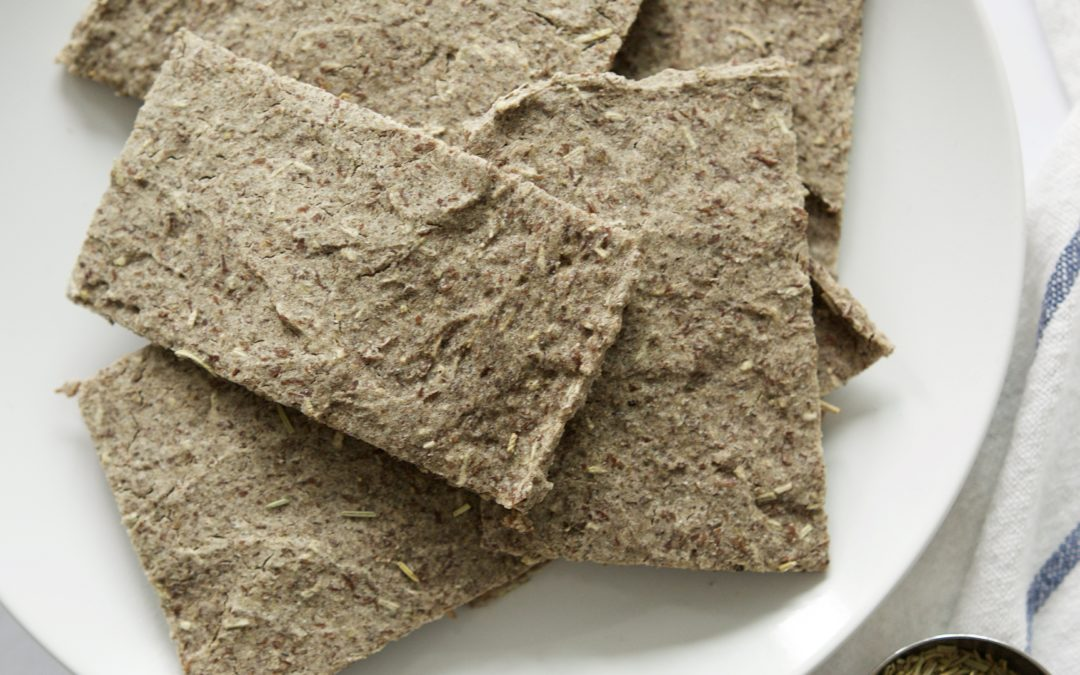 Rosemary Buckwheat Flatbreads (gluten-free)