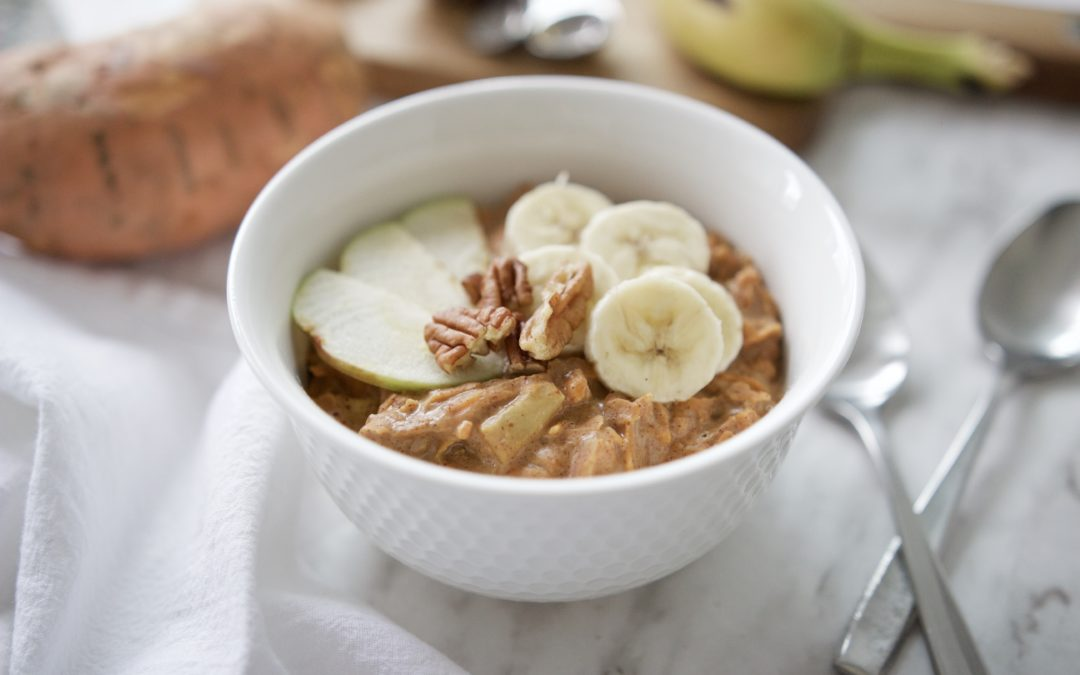 Paleo Sweet Potat-Oats Porridge