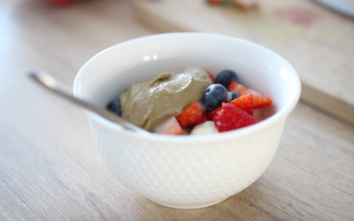 Simple Breakfast Berry Bowl