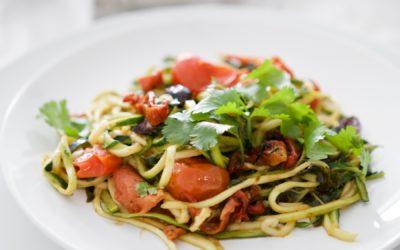 Sundried Tomato & Olive Pasta (Paleo)