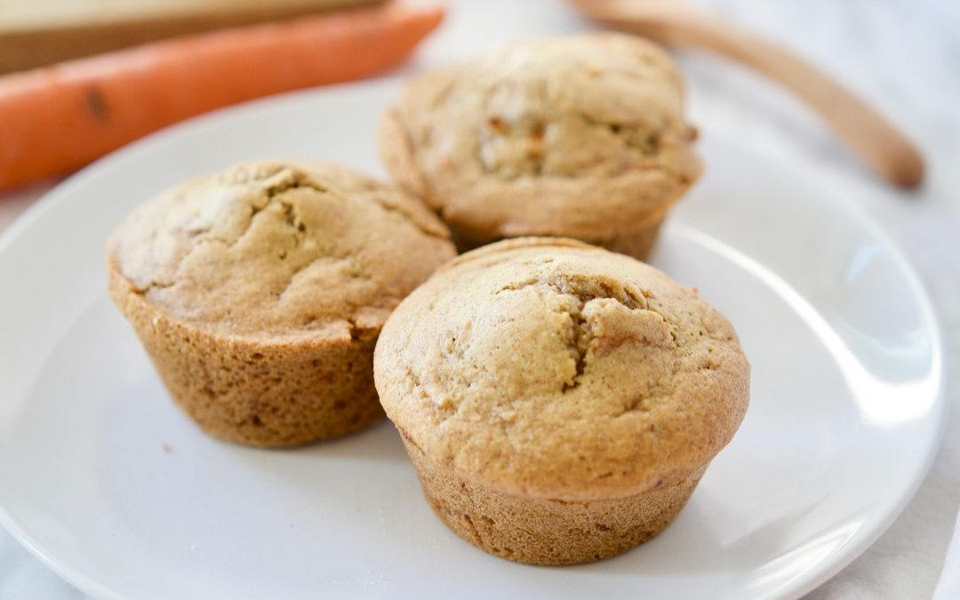 Paleo Carrot Cake Muffins