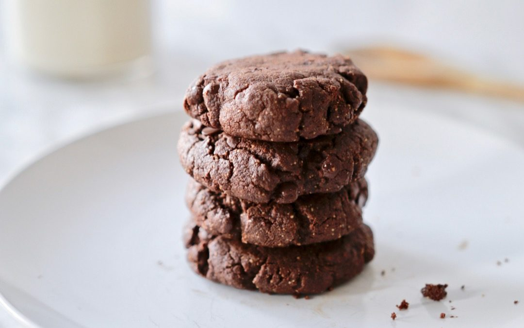 Double Chocolate Chip Cookies (paleo, gluten-free)