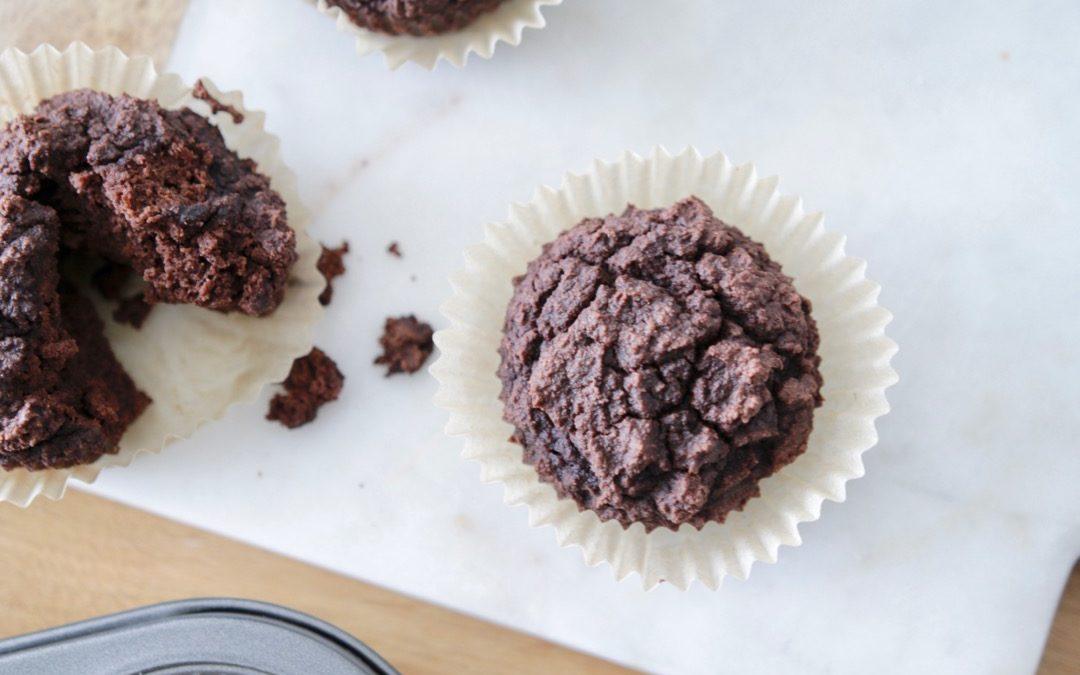 Chocolate Collagen Muffins