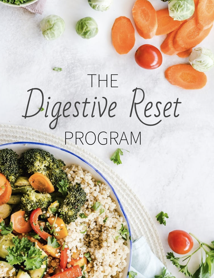 The Digestive Reset Program: 4-Week Course Image
