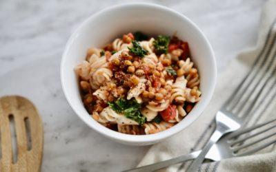 Tomato Lentil Pasta
