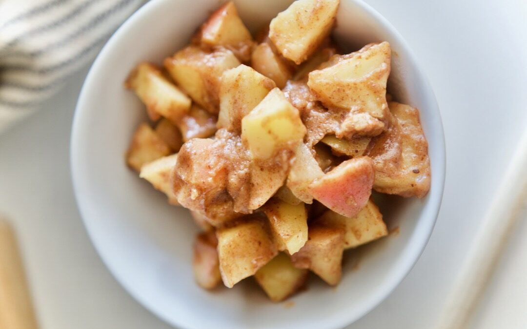 Stewed Almond Butter Apples