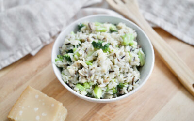 Mushroom & Broccoli Risotto (long-grain)