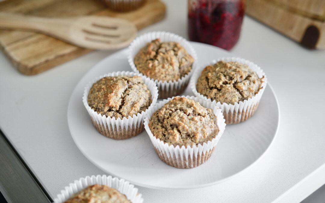 Oatmeal Flax Muffins
