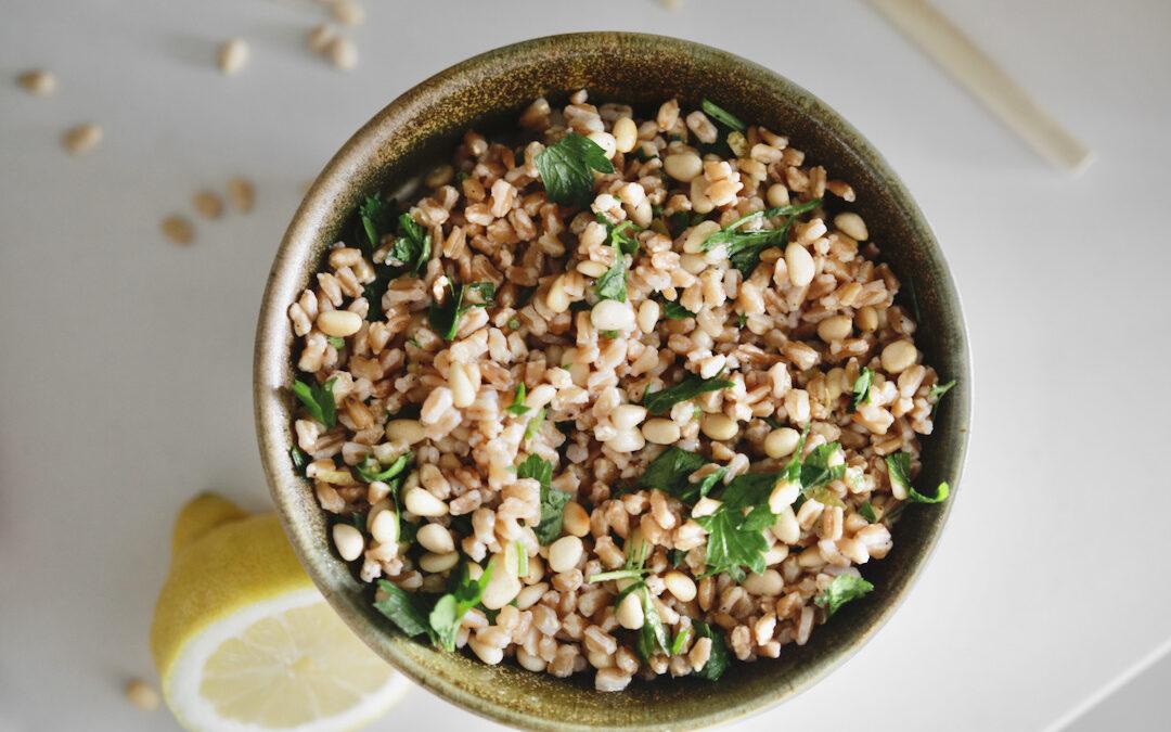 Lemon Grain Salad