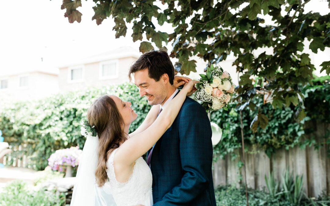 Our Backyard Wedding (+ How We Saved Over $20K)